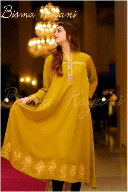 Bisma Kayani Eid Winter Party Wear Collection 2012 For Women 001
