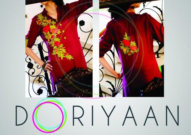 Doriyaan Latest Fall Knitwear Collection 2012-13 For Ladies 001