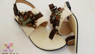 Eid ul Azha shoes Collection 2012-2013 for women by Purple Patch
