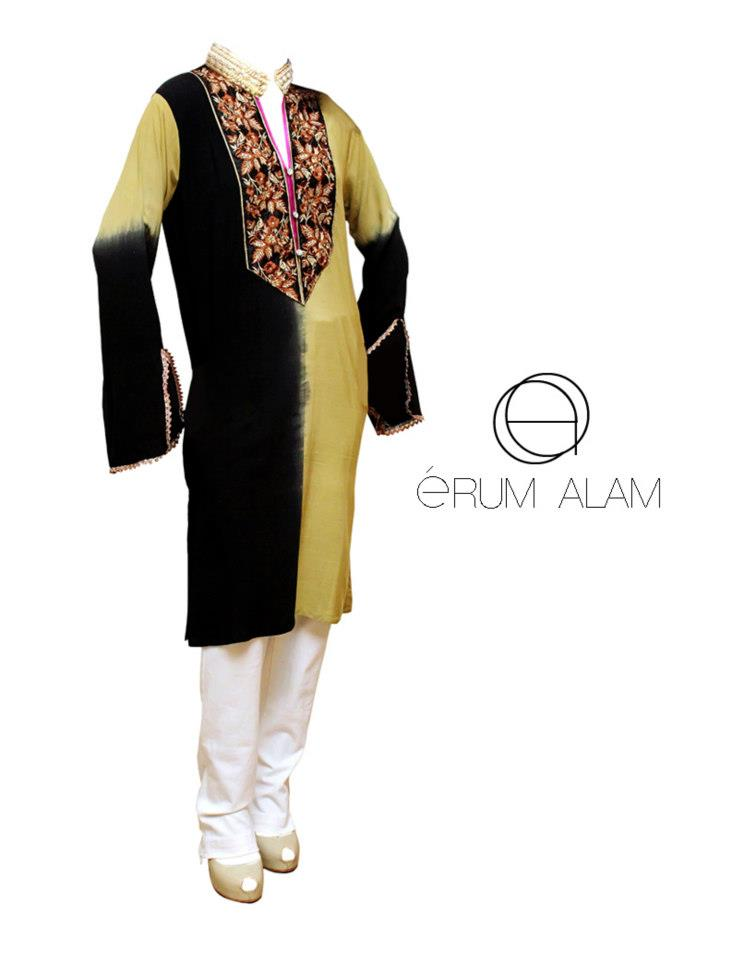 Erum Alam Women Wear Linen Collection 2012 for Women