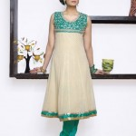 Excellent Neck Embroidered Party Wear Dresses 002