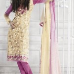 Excellent Neck Embroidered Party Wear Dresses 006