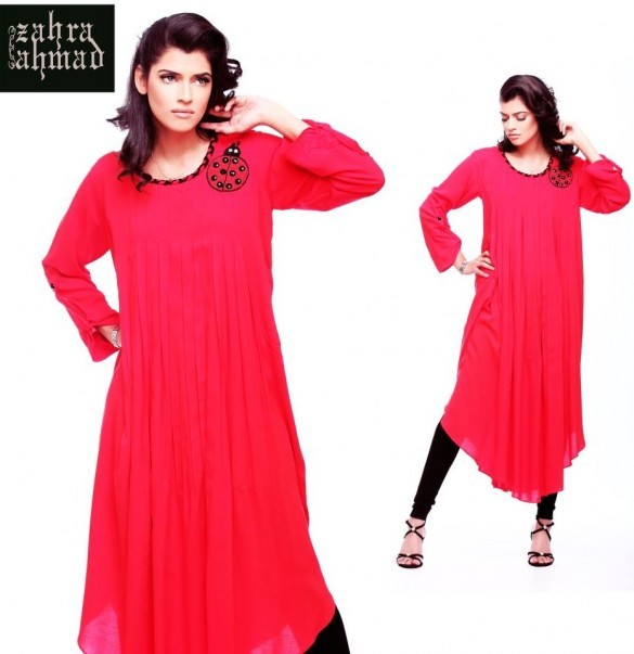 Fall Winter Collection 2012 by Zahra Ahmad 002