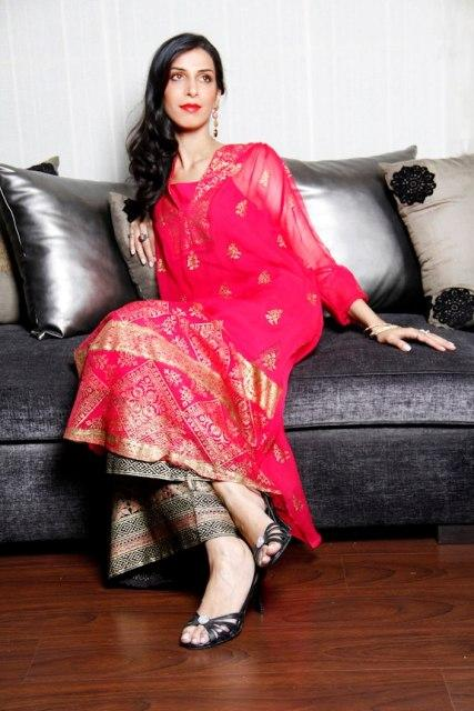 Fiction Concepts Latest Party Wear Eid Dress Collection 2012 For Ladies