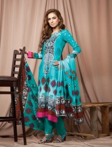 Firdous Colorful Cambric Winter eid dress Collection 2012-2013 For Women (1)