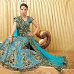 Stylish Bridal Lehenga Choli Collection 2012