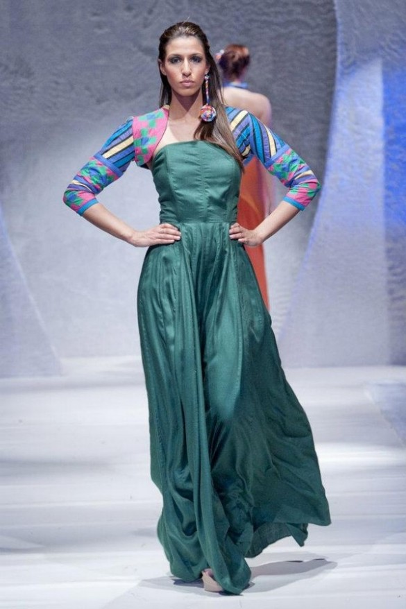 Ishtiaq Afzal Collection At Pakistan Fashion Week London 2012