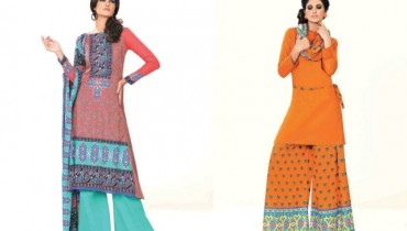 Ittehad Beautiful Retro Dress Collection 2012-2013 For Women (1)