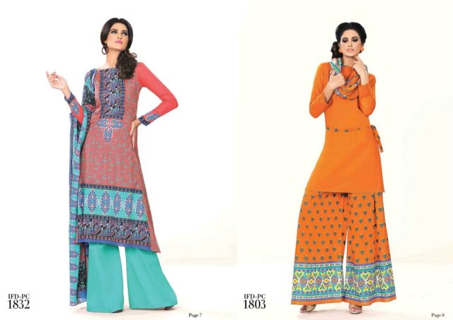 ittehad beautiful retro dress collection 20122013 for