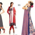 Ittehad Beautiful Retro Dress Collection 2012-2013 For Women (2)