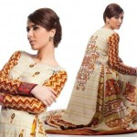 Ittehad Beautiful Retro Dress Collection 2012-2013 For Women (3)