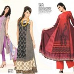 Ittehad Beautiful Retro Dress Collection 2012-2013 For Women (4)