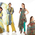 Ittehad Beautiful Retro Dress Collection 2012-2013 For Women (6)