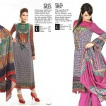 Ittehad Beautiful Retro Dress Collection 2012-2013 For Women (7)