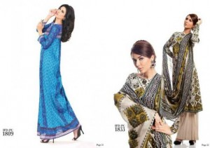 Ittehad Latest Retro Collection 2012 For Women 0012