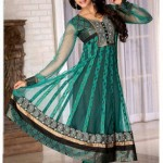 Latest Anarkali Style Fashion 2012 For Woman 002