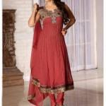 Latest Anarkali Style Fashion 2012 For Woman 003