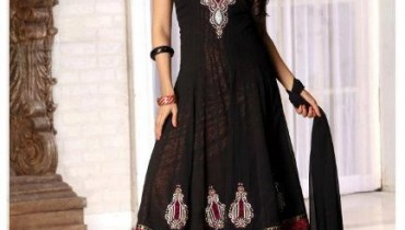 Latest Anarkali Style Fashion 2012 For Woman