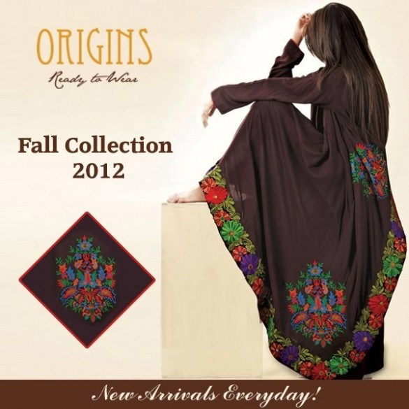 Latest Beautiful Origins Winter Collection For Women 2012-13 (3)
