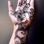 Latest Eid Mehndi Designs 2012-13 For Girls & Women