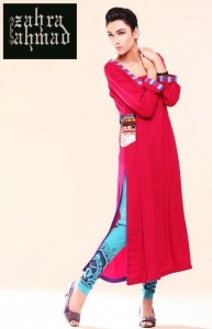 Latest Fall Winter Dress Collection 2012 For Women By Zahra Ahmad (3)