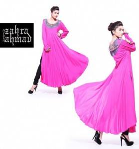 Latest Fall Winter Dress Collection 2012 For Women By Zahra Ahmad (5)