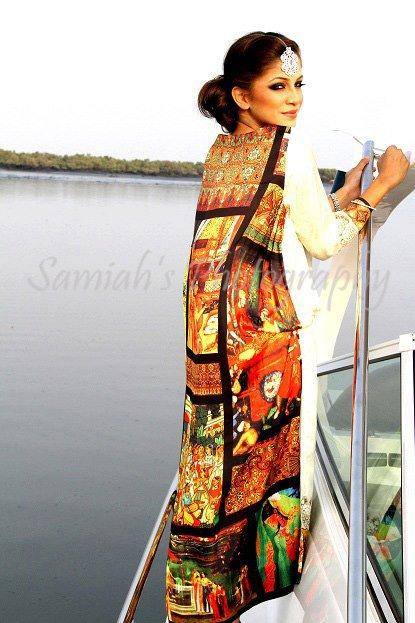 Latest Ready To Wear Silk Eid ul Azha 2012 13 collection By Zohra Alam