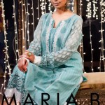 Maria.B Latest Winter EID Dress Collection 2012 for Women