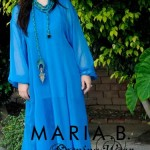 Maria.B stylish Winter EID Dress evening Collection 2012 for Women