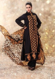 New & Beautiful Eid Dress Winter Fall Collection 2012-2013 For Women By Nimsay