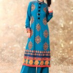New & Beautiful Eid Dress Winter Fall Collection 2012 For Women By Nimsay