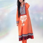 New & Beautiful casual wear Eid Dress Winter Fall Collection 2012 For Women By Nimsay