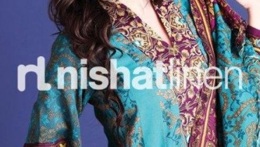 Nishat Linen Winter Pret Collection 2012-13 for Women and Girls