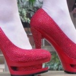 Red Wedding Bridal shoes 2012