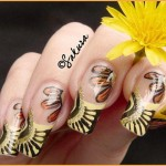 Sakura Latest Eid ul Azha Nail Designs For Girls 005