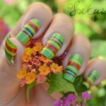 Sakura Latest Eid ul Azha Nail Designs For Girls 007