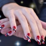 Sakura Latest Eid ul Azha Nail Designs For Girls 008