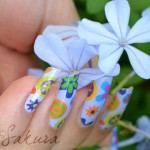 Sakura Latest Eid ul Azha Nail Designs For Girls 009