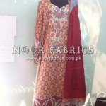 Sana Safinaz Silk Collection 2012 Stitched By NOOR Fabrics 0010