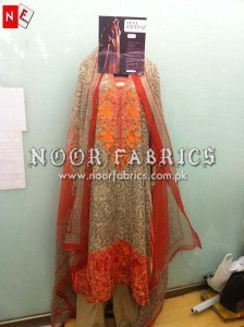 Sana Safinaz Silk Collection 2012 Stitched By NOOR Fabrics 003