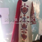 Sana Safinaz Silk Collection 2012 Stitched By NOOR Fabrics 009
