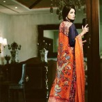 Sana and Riffat Evening Party wear Eid Dresses 2012 by Women (4)