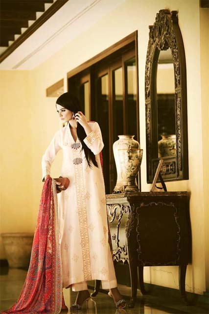 Sana and Riffat Evening Party wear Eid Dresses 2012 by Women (6)