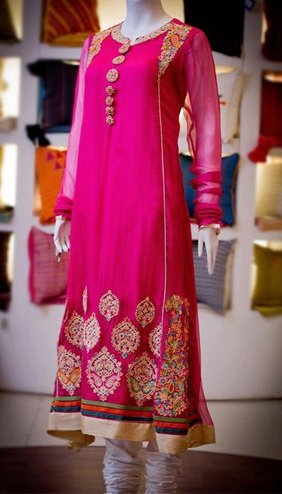 Sanz Latest Eid Dress Collection 2012-2013 For Women and Girls (1)