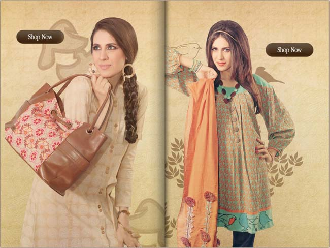 Shubinak Semi Formal Wear Women,s Kurtas Tunics autumn Collection 2012-13