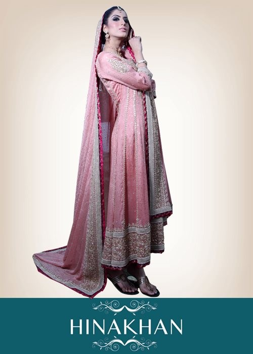 Stunning Bridal Dresses 2012 By Hina Khan 006