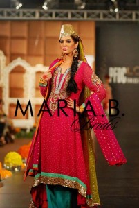 Stunning outfit by MARIA.B brides Collection 2012 in PFDC LOrea Paris Bridal Week