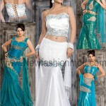 Stylish fish lehenga choli wedding dresses