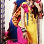Zahra Ahmad Latest Colorful Monsoon Dress Collection 2012-13 (2)