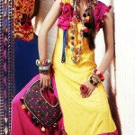 Zahra Ahmad Latest Colorful Monsoon Dress Collection 2012-13 (3)